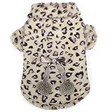 Cheap Zack & Zoey Elements Cheetah Plush Coat, X-Large