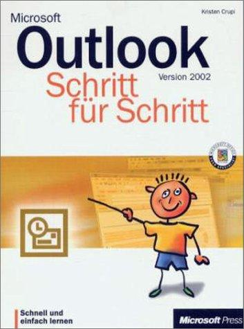 Microsoft Outlook 2002 Schritt für Schritt, m. CD-ROM