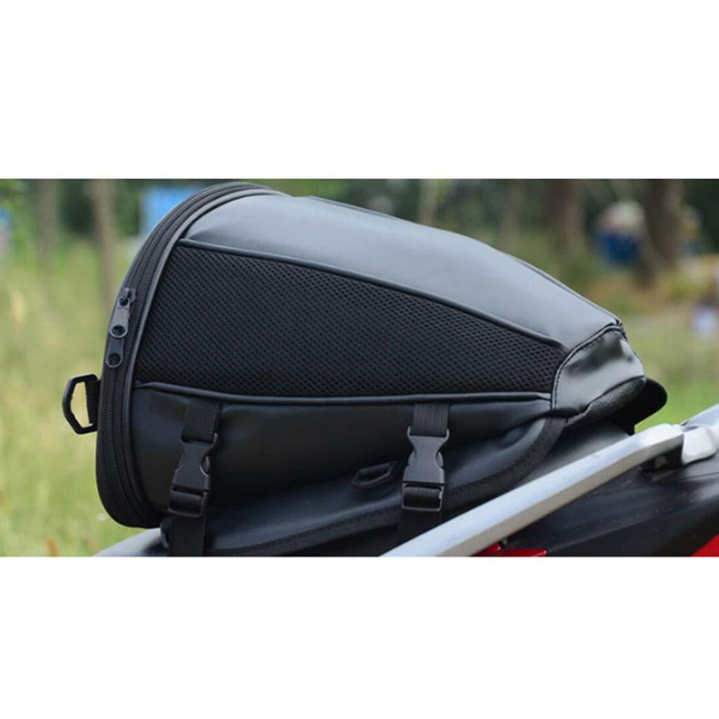KESOTO Motorrad Tasche Tankrucksack Stoff und Kunstleder Satteltaschen Heckgep/äck Tanktasche Wasserdicht Gep/äcktr/ägertasche Tank Tasche
