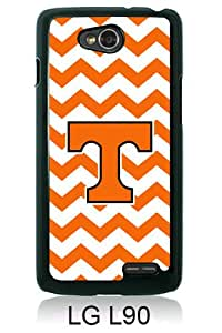 Southeastern Conference SEC Football Tennessee Volunteers 02 Black Abstract Custom Design LG L90 Protective Phone Case