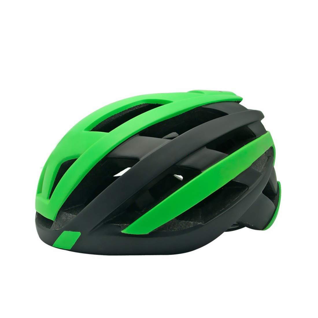 CAFUTY 屋外ライディングヘルメット、ポータブル安全ヘルメット、適用範囲:屋外サイクリング愛好家向けアダルト (Color : オレンジ, サイズ : L) Large オレンジ B07PLDMVV8