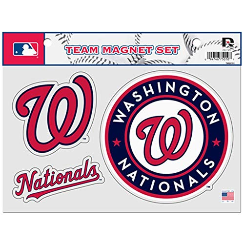 Rico (TMS5702) MLB Washington Nationals Team Magnet Set