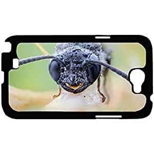 New Style Customized Back Cover Case For Samsung Galaxy Note 2 Hardshell Case, Back Cover Design Insect Personalized Unique Case For Samsung Note 2