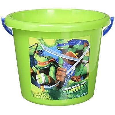 Amscan Teenage Mutant Ninja Turtles Birthday Jumbo Container Party Favour, Green, 6