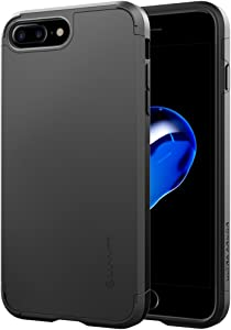Luvvitt Ultra Armor iPhone 7 Plus/iPhone 8 Plus Case with Dual Layer Heavy Duty Protection and Air Bounce Technology for Apple iPhone 7 Plus (2016) / iPhone 8 Plus (2017) - Black