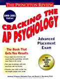 Cracking the AP Psychology, 2000-2001 Edition, Princeton Review Staff and Robert Sternberg, 0375754806