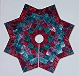 Pattern~Kringle's Kaleidoscope~Christmas Tree Skirt McKenna Ryan