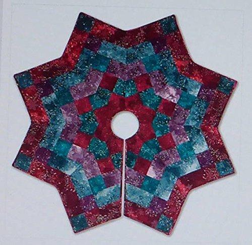Pattern~Kringle's Kaleidoscope~Christmas Tree Skirt McKenna Ryan