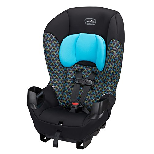 Evenflo Sonus Convertible Car Seat, Boomerang Blue (Rear Facing Car Seat Up To 50 Lbs)