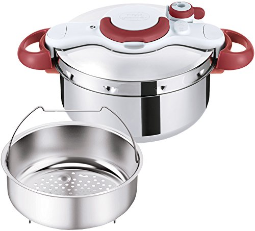 T-fal Pressure Cooker ''ClipsoMinut Easy'' 4.5L (Ruby Red) P4620669【Japan Domestic genuine products】 【Ships from JAPAN】 by T
