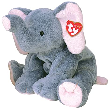 Amazon.com  Ty 3229 Winks Elephant  Toys   Games b15e2ee32a1