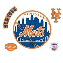 Fathead 63-63205 Wall Decal, New York Mets Logo