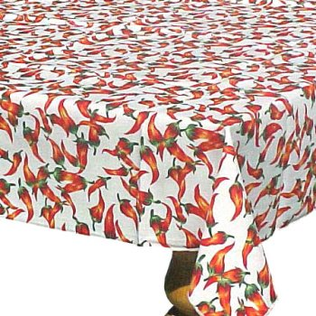 Chili Peppers Cafe Table Cloth