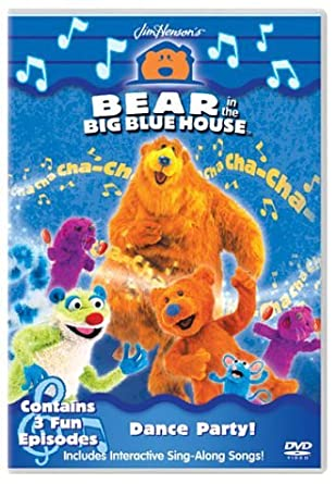 bear in the big blue house dance party dvd - Big Blue House