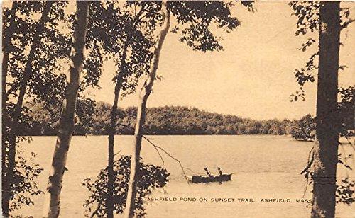 (Ashfield Pond on Sunset Trail Ashfield Massachusetts Postcard )