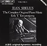 Sibelius: The Complete Original Piano Music (Volume 3)