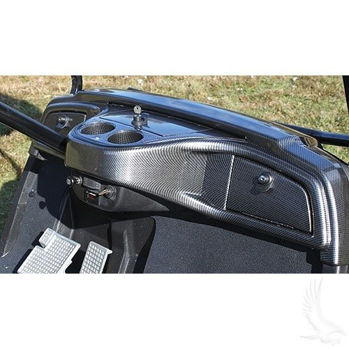 Yamaha Drive Golf Cart Custom Dash - Carbon Fiber for 2007-2016