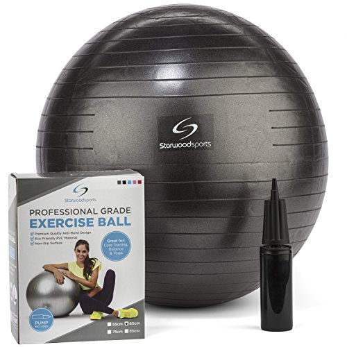 Exercise-Ball-Yoga-Swiss-Ball-with-Hand-Pump-65cm-Gym-Quality-Core-Fitness-Ball-for-Women-and-Men