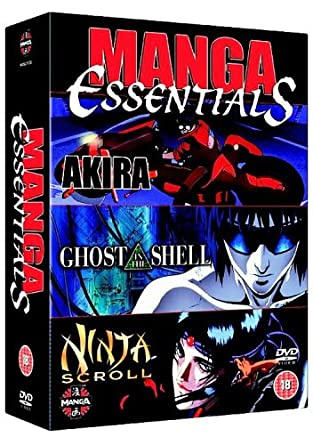 Amazon.com: Manga Essentials - Akira/Ghost in the Shell ...