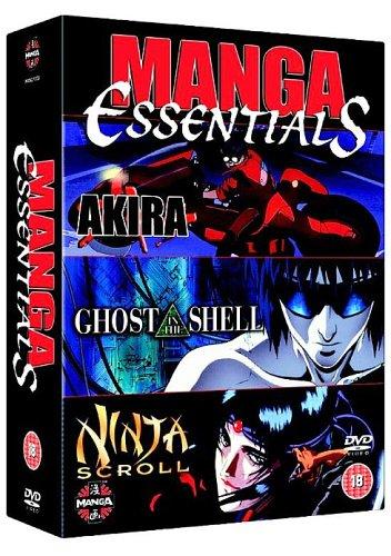 Manga Essentials - Akira/Ghost in the Shell/Ninja Scroll