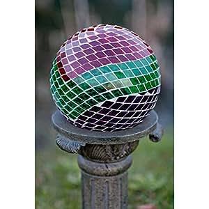 Echo Valley 8189 Mosaic Earth Glass Gazing Globe, 10-Inch