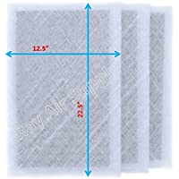 Air Ranger Replacement Filter Pads 14X25 (3 Pack) White