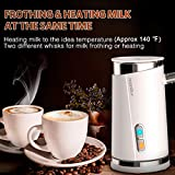 HadinEEon Milk Frother, Electric Milk Frother
