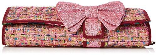Choice Womens Cream Clutch Pink amp; Multi Clutch Irregular Pink Cookies 6xTUdRq