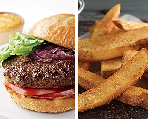 - Kansas City Steaks 6 (5 oz) Wagyu Kobe Beeef Steakburgers and 2 (16 oz) bags of KC Steak Fries