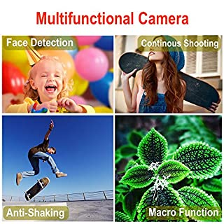 Digital Camera 2.7 Inch 30 Mega Pixels HD Camera Rechargeable Mini Camera Students Camera Pocket Camera Digital with 8X Zoom Compact Camera for Photography