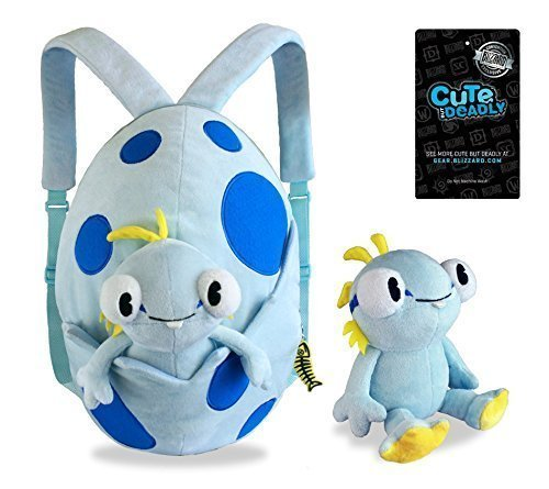 SDCC 2015 Blizzard World of Warcraft: Cute But Deadly Murloc Backpack (World Of Warcraft Plushies)