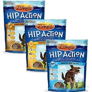 Amazon.com : Zukes, Hip Action, Dog Treats, Economy