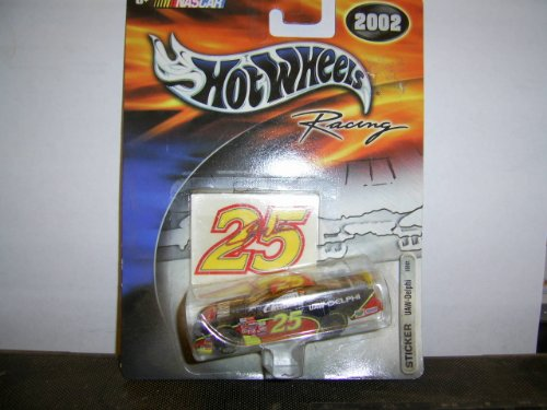 Hot Auto Wheels (Team Hot Wheels Racing 2002 Sticker UAW-Delphi 55901#25)