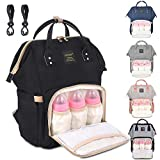 Diaper Bag Backpack Multi-Function Waterproof Travel Baby Nappy Bag Large Capacity Stylish Durable