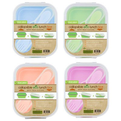 Collapsible Eco Silicone Lunch Box