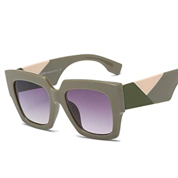 GHVJHBJBH Gafas de Sol Mujer Marca Gafas de Sol extragrandes ...