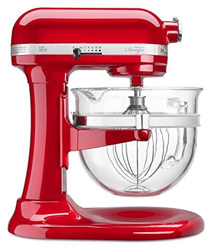 KitchenAid 6-Qt. Professional 600 with Glass Bowl (Red)