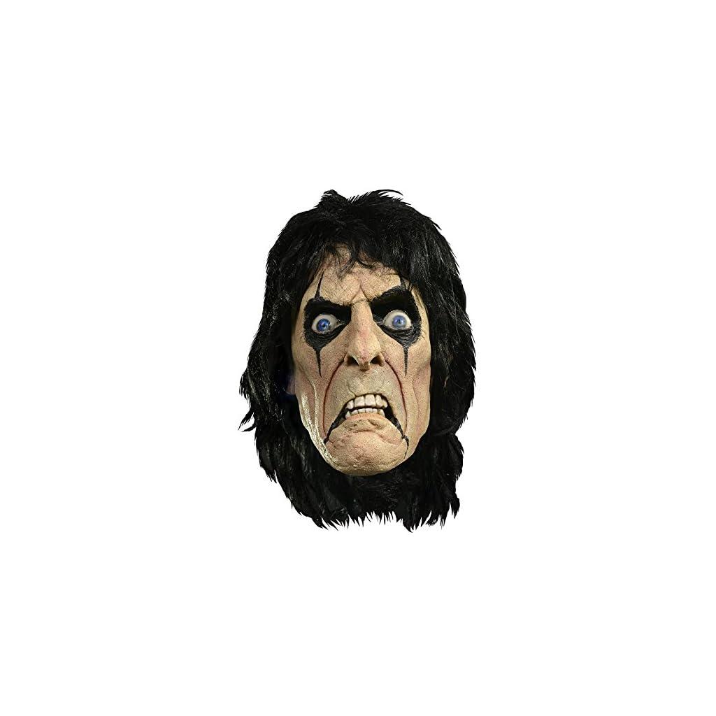 Máscara licencia Alice Cooper látex adulto