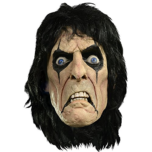 Trick or Treat Studios Men's Alice Cooper Mask, Multi, One Size