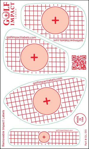 Golf Impact Labels (50 Pack