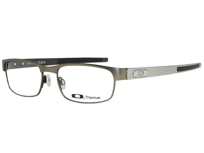 495c2d580d5 Image Unavailable. Image not available for. Colour  Oakley Carbon Plate  OX5079-0255 Light Titanium Eyeglasses 55mm