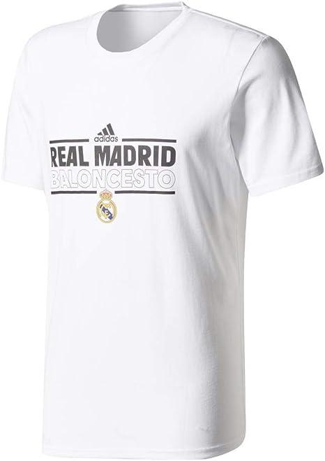 adidas RM Graphic tee - Camiseta Línea Real Madrid FC Hombre: Amazon.es: Ropa y accesorios