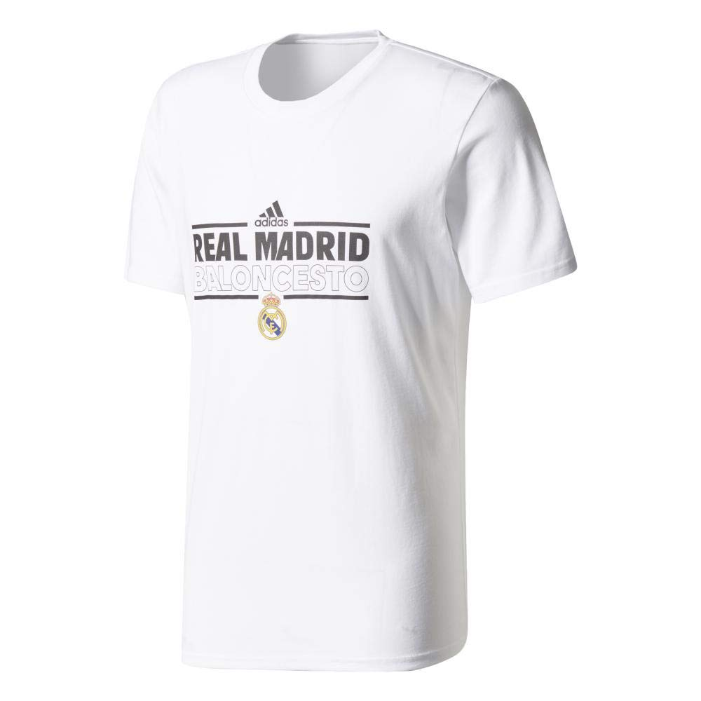 adidas RM Graphic tee Camiseta Línea Real Madrid FC, Hombre ...