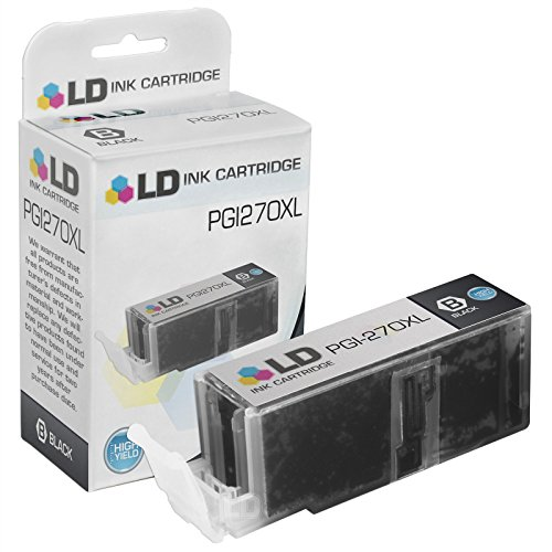 LD © Compatible Canon PGI-270XL/ 0319C001 High Yield Pigment Black Ink Cartridge for PIXMA MG5720, MG5721, MG5722, MG6820, MG6821, MG6822, MG7720