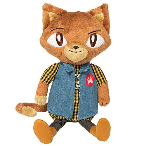 Manhattan Toy Alley Cat Club Lou Soft Plush Toy 14
