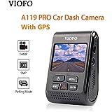 VIOFO A119 PRO Dash Cam With GPS Car Dash Camera 2K HD 1440P 1296P 30fps 1080P 60/30fps 5PM Capacitor Camera DVR F1.8 130°FOV Video Recorder G-sensor …