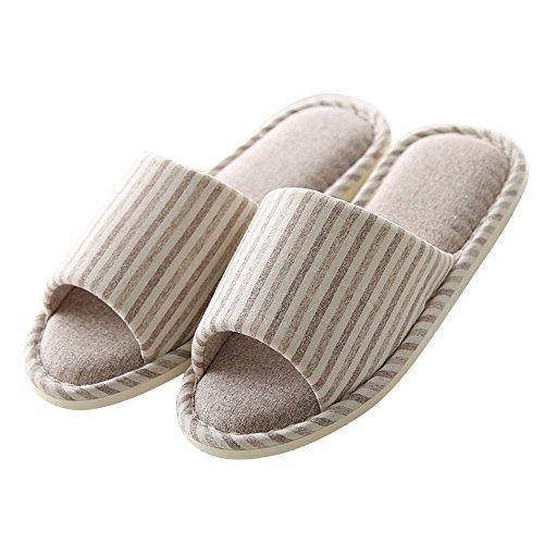 Mianshe Women's and Men's Home Slippers Anti-slip Sole Indoor Sandals