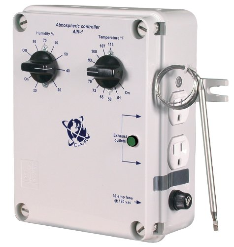 Atmosphere Controller - Cap AIR-1 Temperature/Humidity Climate Controller with External Temp Probe