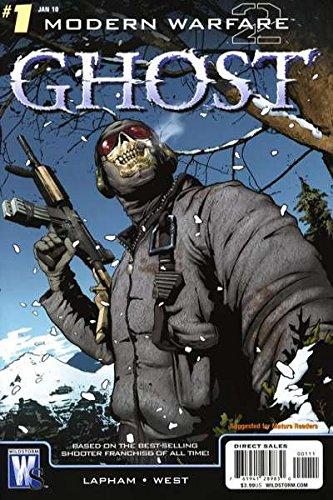 Modern Warfare 2: Ghost #1 Jim Lee Variant (Call Of Duty 4 Modern Warfare Perks)