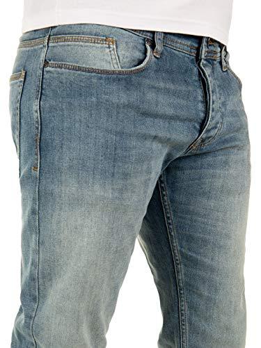 Wotega Fit blue Bleu Mirage Alistar Jean 184215 Homme Regular Jeans AXq0aA6r